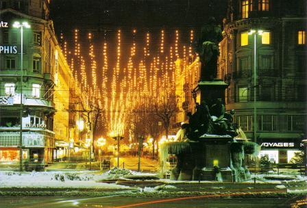 Gang Dur Alt Z 252 Ri Die Alte Weihnachtsbeleuchtung In Der
