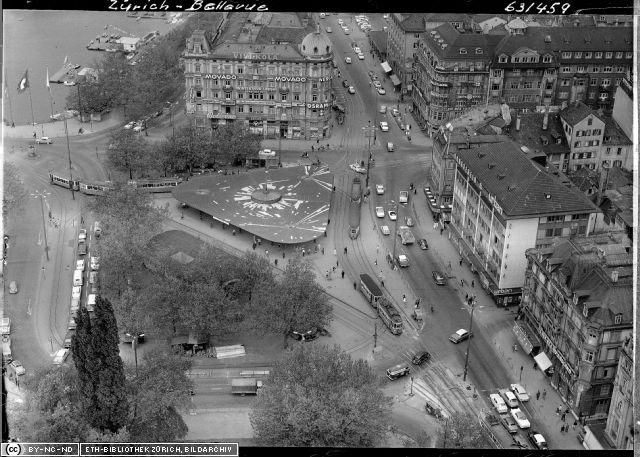 Aufnahme Comet / ETH-Bibliothek Zuerich Bildarchiv