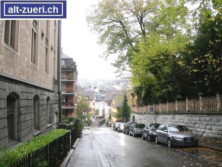 Villa Falkenstein dur alt züri die schanzengasse